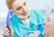 Протезирование пациентов с пародонтитом, один из важных этапов лечения. Пример из практики стоматологии в Харькове