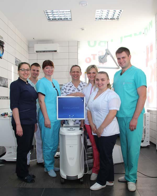 Photo with digital dental camera CEREC Sirona