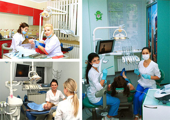 Фото специалистов-стоматологов в клинике ЦКС Харьков