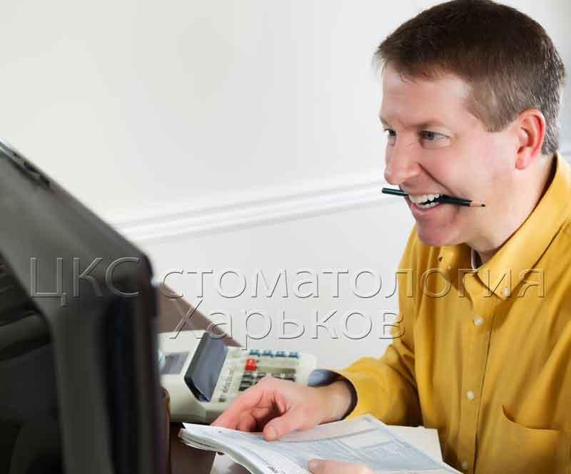 Фото мужчины с неправильным прикусом