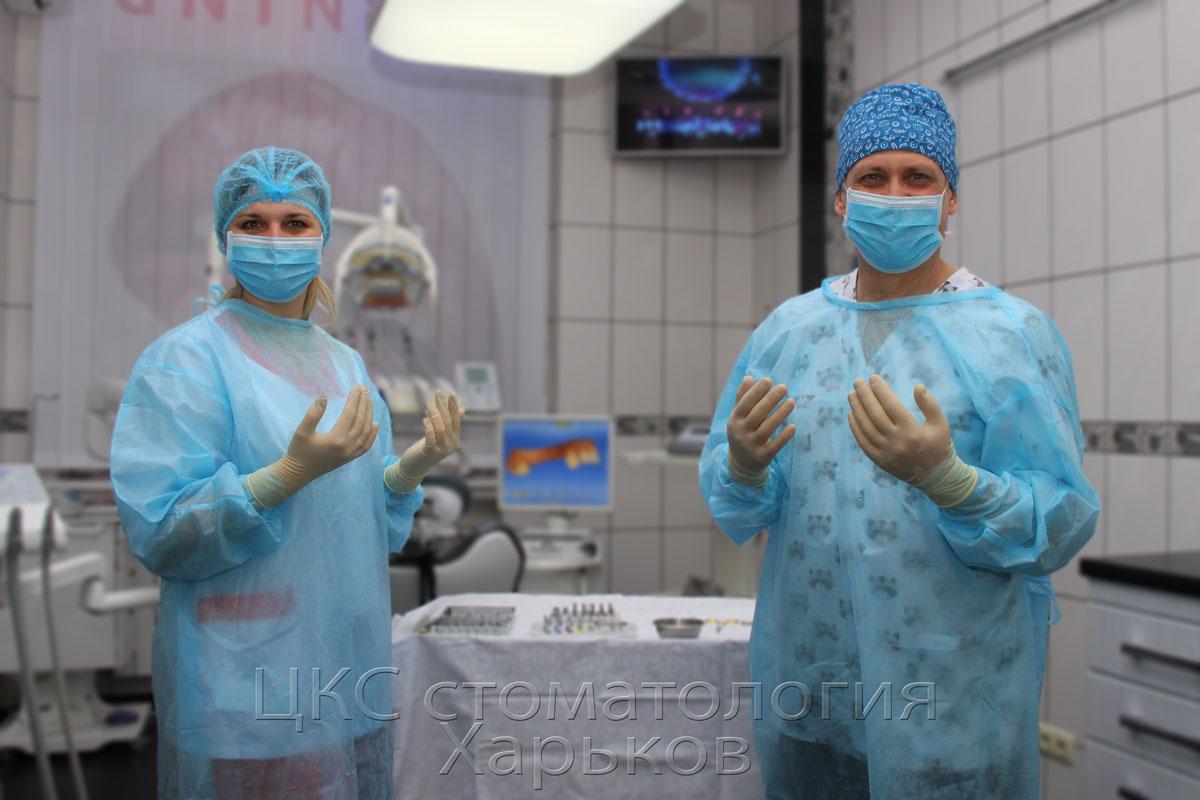 Цены на зубная имплантация в условиях строгой стерильности