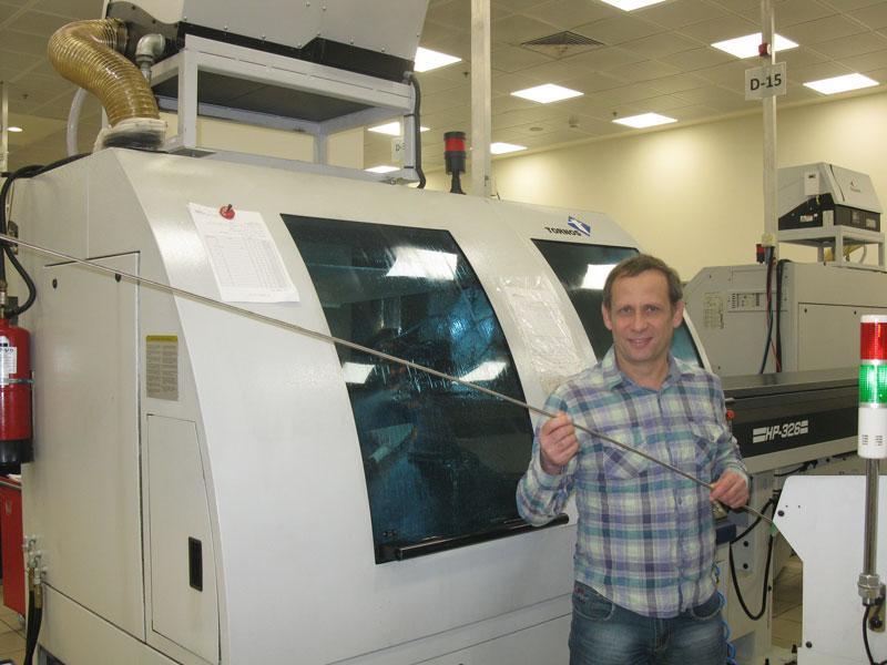 Титановый прут из которого вытачиваются зубные импланты, фото