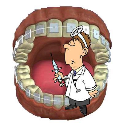 рисунок врача дантиста