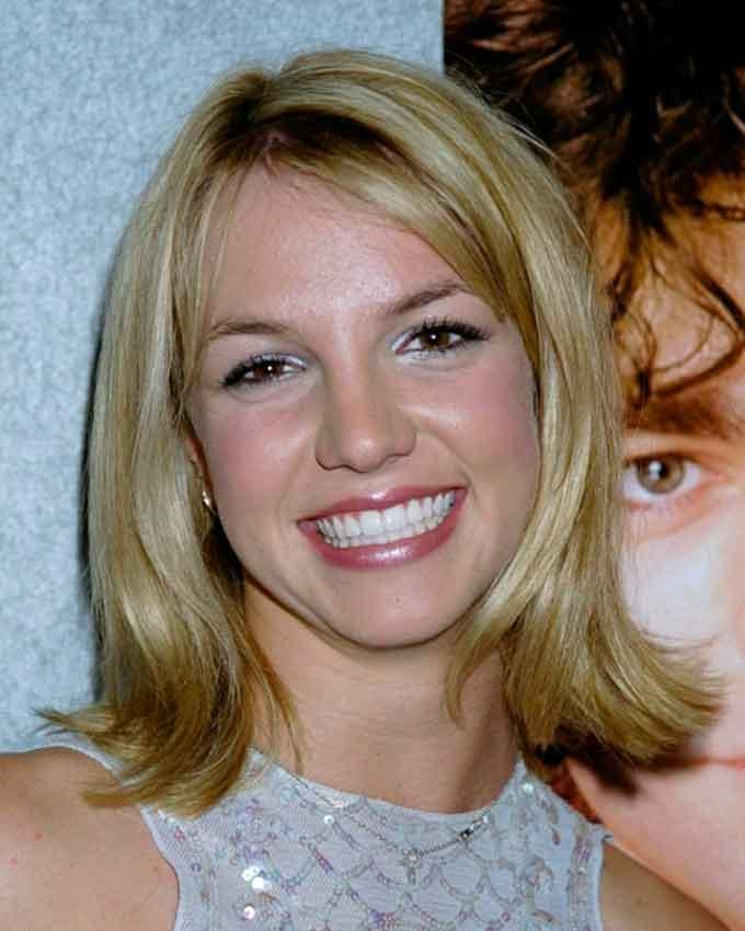 Улыбка Britney Spears