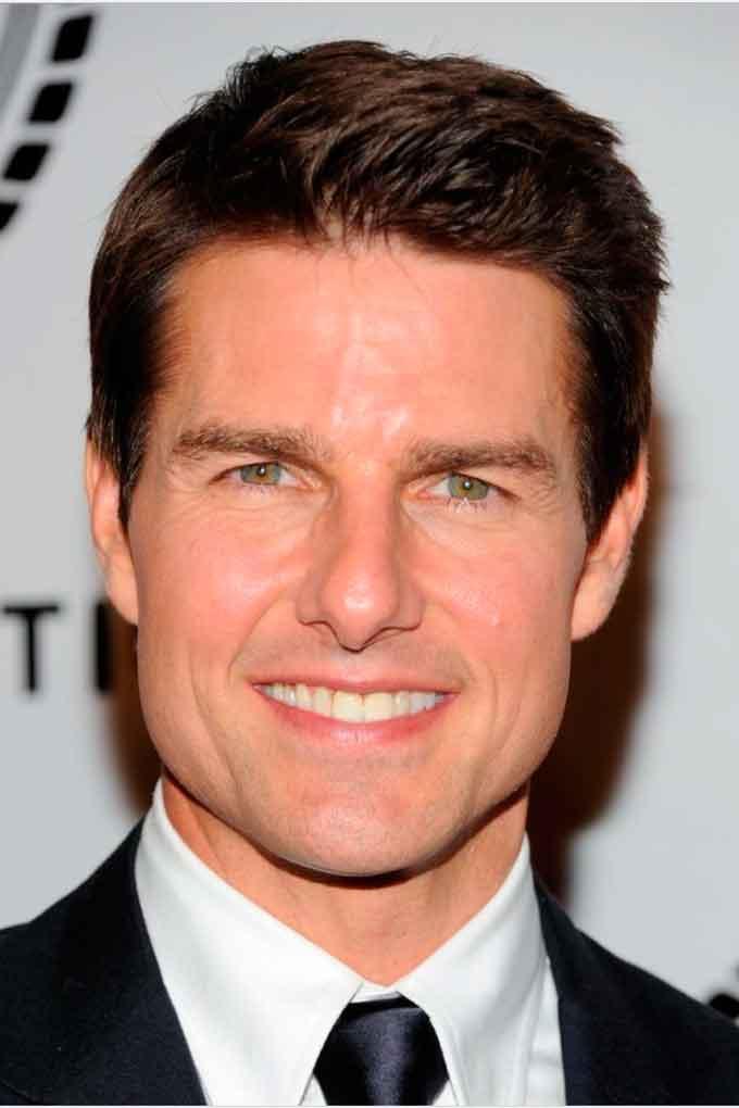 Средняя линия Tom Cruise