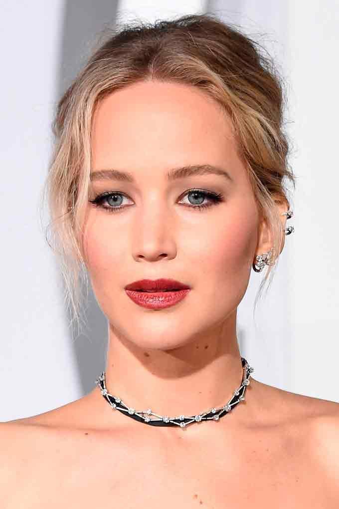 Пропорциональное лицо Jennifer Lawrence