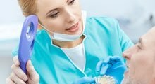 Бюгельный протез, практический случай в стоматологии ЦКС Харьков